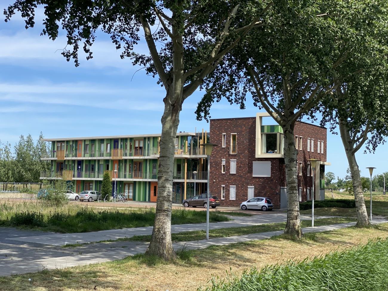 Keurige woningen in Stadshagen